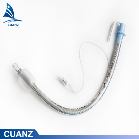 OEM Reinforced Endotracheal Tubes Customized Silicon Tracheal Intubation Tubes