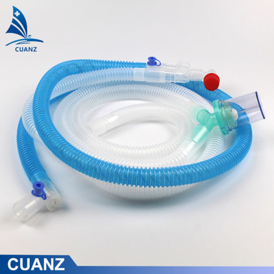 Disposable Medical Ventilator Breathing Circuit Anesthesia Smoothbore Corrugated Expandable Circuit